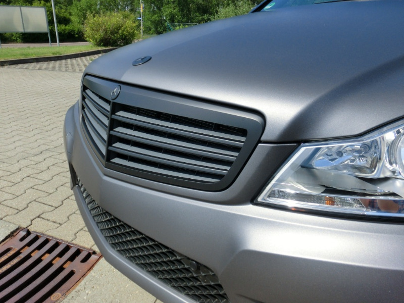 Mercedes Benz C Amg Grau Matt Metallic 1 Pictures to pin ...